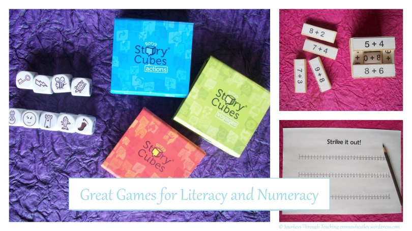 Great Games for Literacy and Numeracy